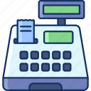shop, grocery, color, cashier, sale, payment, store icon
