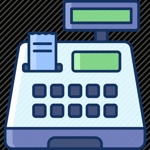 cashier, color, grocery, payment, sale, shop, store icon
