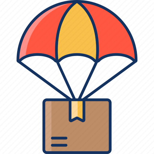 amazon, color, delivery, ebay, lineal, sale, shipping icon