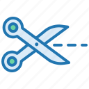 coupon, cut, discount, miscellaneous, scissors, tool icon