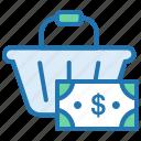 buy, cash, online shopping, payment, shopping basket, shopping cart icon