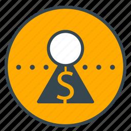 account, bank, dollar, finance, money, savings icon