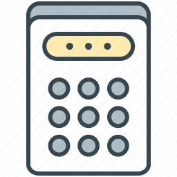 calculate, calculator, finance, numbers, shopping icon