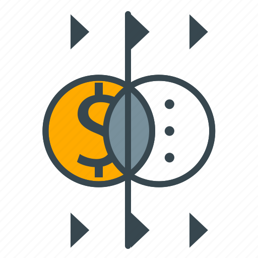 currency, dollar, exchange, finance, money icon