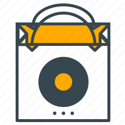 bag, bought, buy, carry, finance, shopping icon