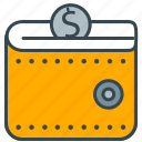 coin, dollar, finance, financial, saving, wallet icon