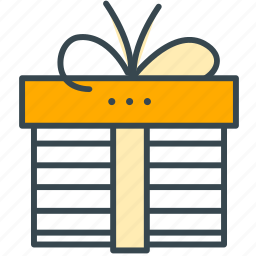 box, finance, gift, present, shopping, wrapping icon