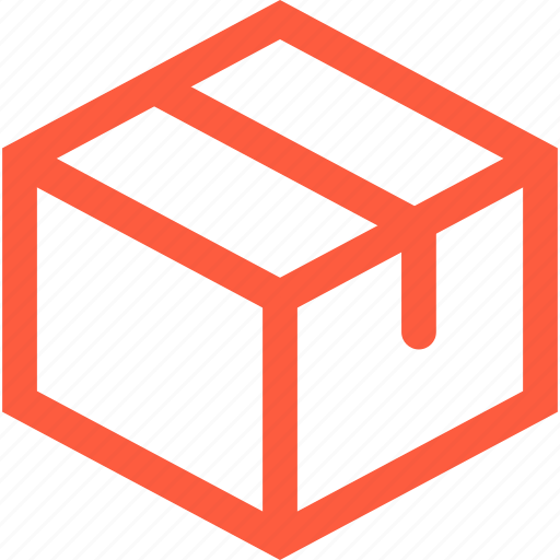 box, carton, container, delivery, package, parcel, postal icon