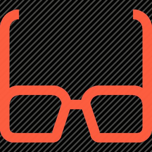 accessory, eyeglass, eyeglasses, glasses, optics icon