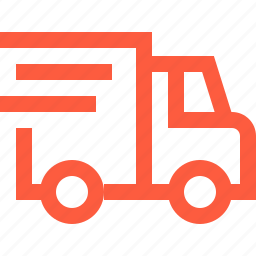 delivery, fast, moving, service, shipping, truck, van icon