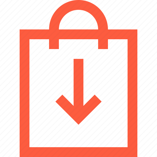 bag, basket, buy, download, plastic, save, shopping icon