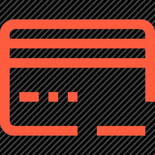 card, credit, delete, plastic, purchase, remove, shopping icon