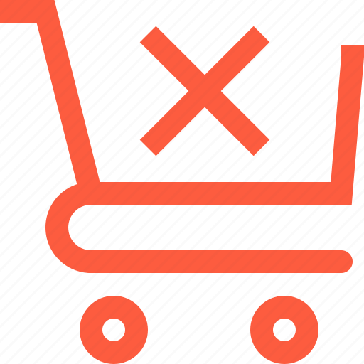 cancel, cart, dismiss, error, sale, shop, shopping icon
