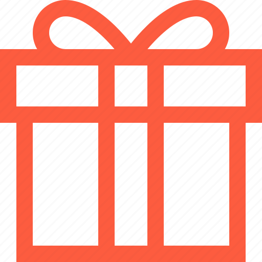box, gift, packing, present, shopping, surprise, wrap icon
