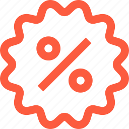 badge, discount, percent, sale, saving, shopping, sticker icon