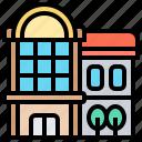 architecture, building, department, mall, store icon