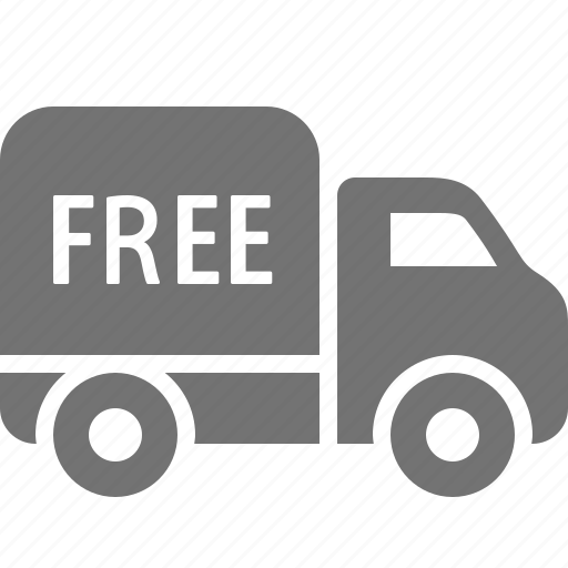 delivery, free, logistics, shipping, shopping, truck icon