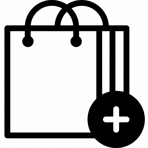 add, bags, buy, ecommerce, shop, shopping, shopping bag icon