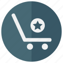 bag, basket, bookmark, business, buy, commerce, ecommerce, favorite, magazine, online, purchase, sall, sell, shop, shopping, star, store, supermarket, top, vote, web shop, webshop icon