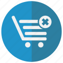 bad, bag, basket, business, buy, cancel, clear, close, commerce, decline, delete, ecommerce, empty, exit, magazine, not, online, purchase, refuse, remove, sall, sell, shop, shopping, stop, store, supermarket, web shop, webshop icon