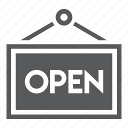 mall, open, sale, shopping icon