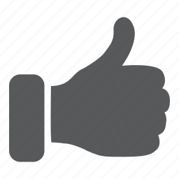bookmark, favorite, like, thumbs up icon