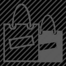 bag, basket, cart, sale, shopping icon