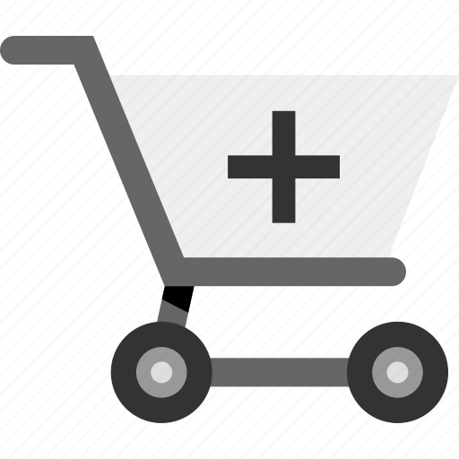 add, additional, cart, commerce, plus, shopping icon
