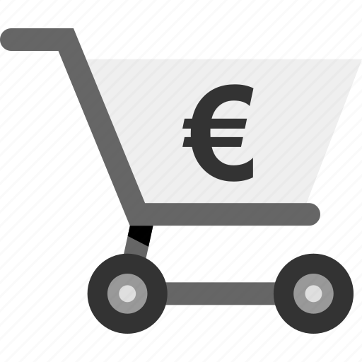 euro, money, online, pay, seo, sign icon