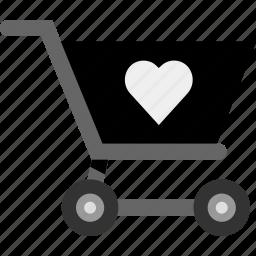 cart, favorite, save, shop, shopping icon