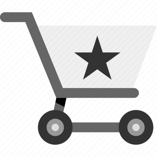 cart, ecommerce, favorite, save, star icon
