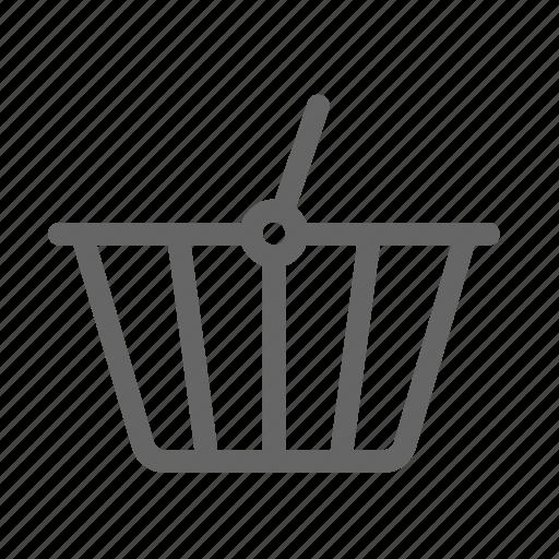 basket, commerce, e, ecommerce, shopping icon