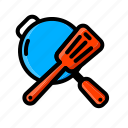 category, forks, gas, goods, kitchen, online, shop icon