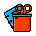 stationery icon icon