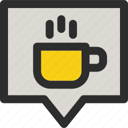 bubble, cafe, cup, location, shop, shopping, tea icon