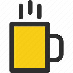 beverage, cafe, coffee, drink, hot, mug, tea icon