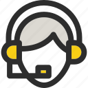 headset, sale, salesman, shop, shopping, support icon