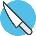 cutting tool, kitchen tool, kitchen utensil, knife, sharp tool icon