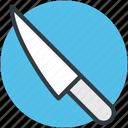 cutting tool, kitchen tool, kitchen utensil, knife, sharp tool icon