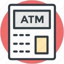 atm, banking, online banking, transaction, withdrawal icon