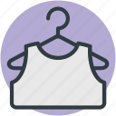 sleeveless shirt, underclothes, undergarment, undershirt, vest icon