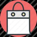 branding, shopping bag, tote bag, supermarket bag, shopper bag icon