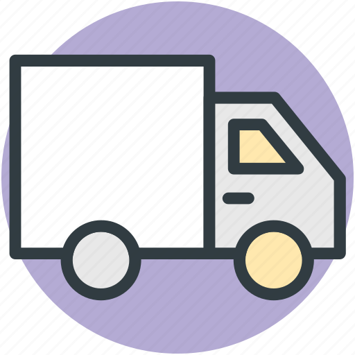 delivery, transport, transportation, truck, van, vehicle icon