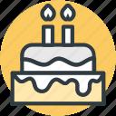 birthday cake, cake, candle cake, candles, celebration