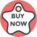 buy now, commerce, sale tag, shopping element, shopping label icon