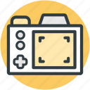 camera focusing, digital camera, photography, picture zooming, recording icon