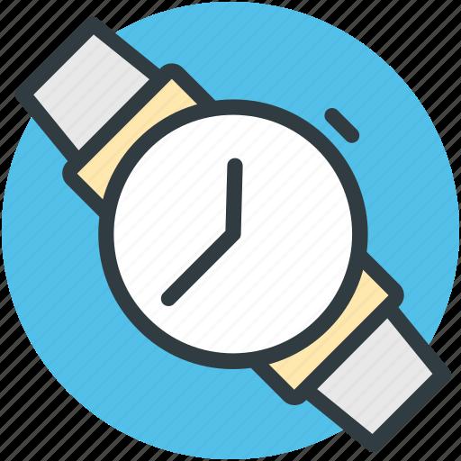 hand watch, time, timekeeper, watch, wristwatch icon