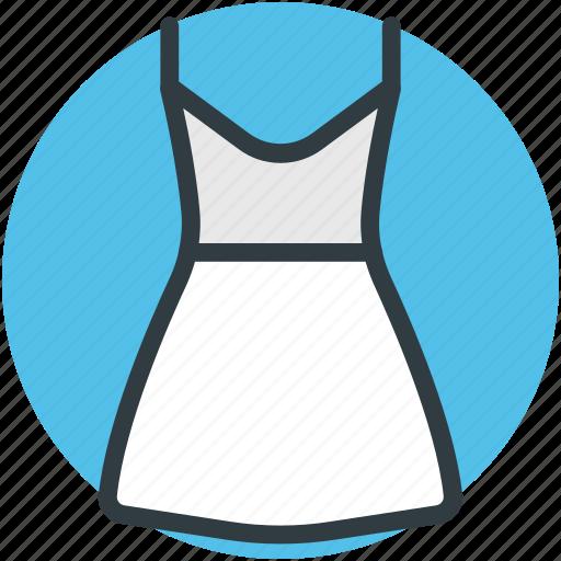 casual dress, fashion, garments, woman clothing, woman dress icon