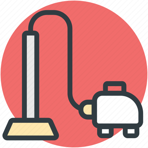 cleaning, hoover, household appliance, vacuum cleaner icon