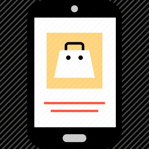 bag, ecommerce, good, item, online, shop, shopping icon